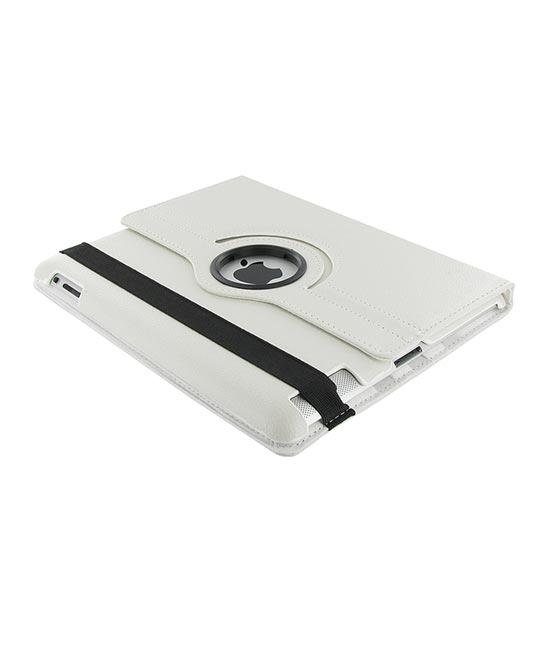 Roterende beschermcase voor iPad Air wit