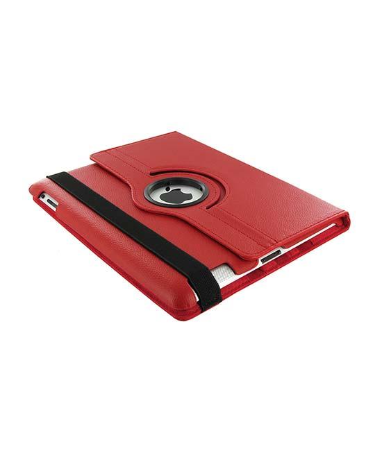 Roterende beschermcase voor iPad Air rood