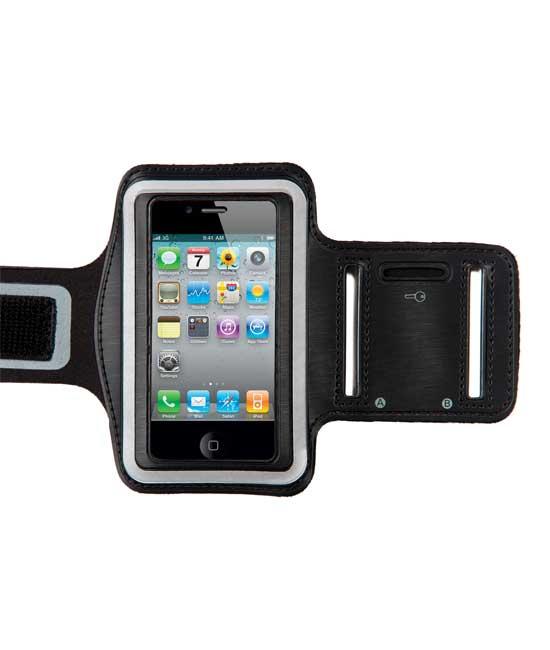 Sportarmband voor iPhone 5-5S zwart