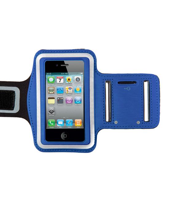 Sportarmband voor iPhone 4-4S blauw