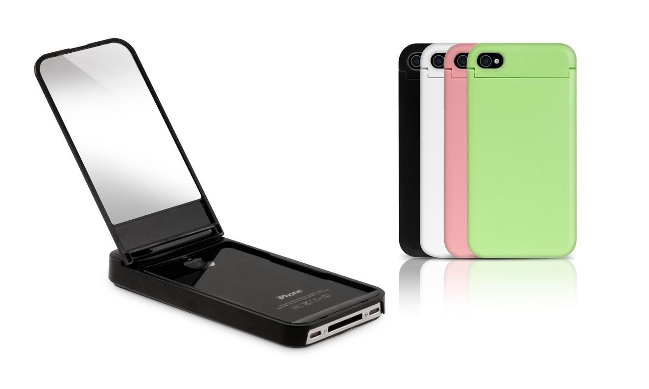 Mirror Case iPhone 4 zwart