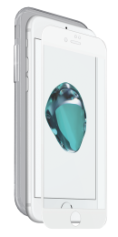 Avanca ToughGlass Nude voor iPhone 7/7S wit