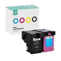 Ink HP 304XL Black + HP 304 Color