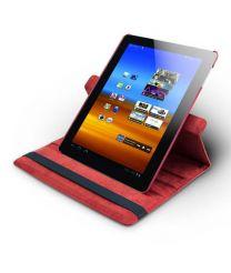 Roterende beschermcase voor Samsung Galaxy Tab 3 rood