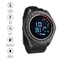 Sinji Smart Watch Round- Black