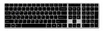 N-line draadloos toetsenbord voor Windows – Zilver/Zwart