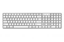 N-line draadloos toetsenbord voor Mac – Zilver/Wit