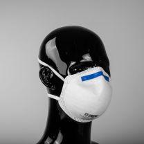 FFP2  gezichtsmasker/ mondkapje- cupmodel - 20 stuks - Geheel CE Conform  (2534)