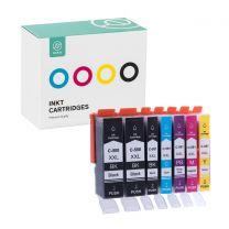 Ink Canon PGI580XXL + CLI581XXL PBK + BL+ RD + YL