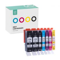 Ink Canon PGI580XXL (2)+CLI581XXL PBK+BL+RD+YL+PBL