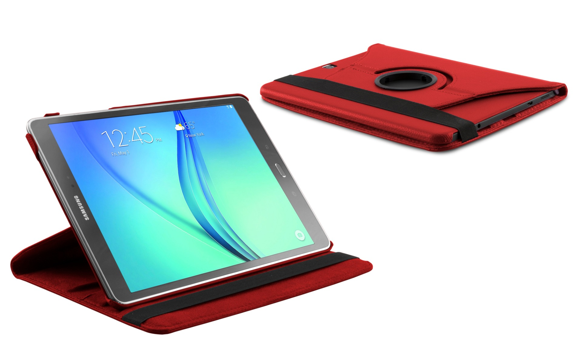 Roterende beschermcase voor Samsung Galaxy Tab A 10.1 rood